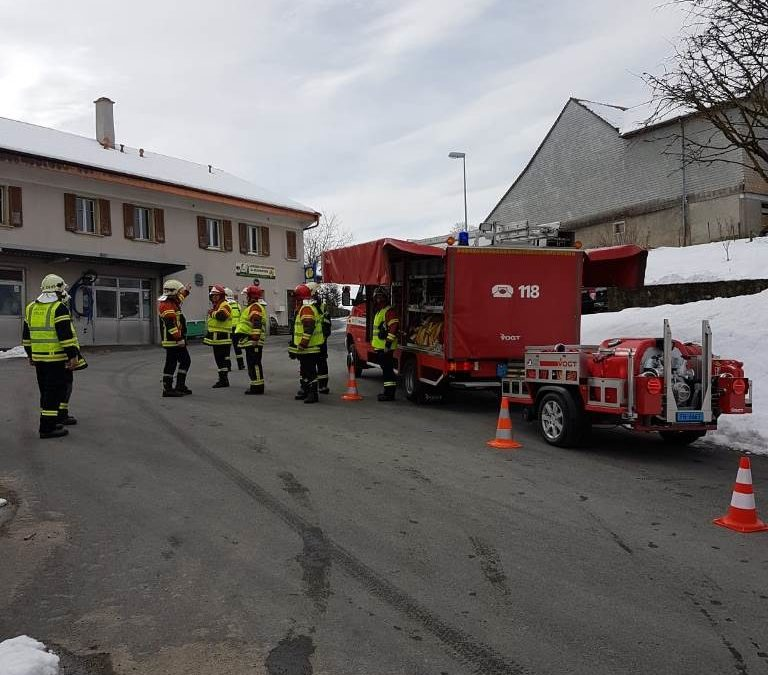 Samedi 6 avril 2019 Exercice chauffeurs